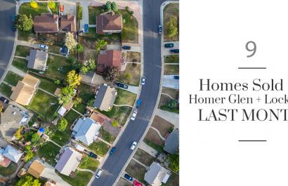9 Homes Sold in Homer Glen & Lockport Last Month
